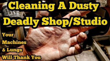 Dangerous Lapidary Dust, Silicosis, And Keeping Your Shop/Studio Clean