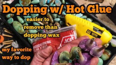 Dopping With Hot Glue