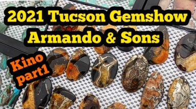 2021 Tucson Gemshow Armando & Sons Custom Rock Cutters Kino Part1