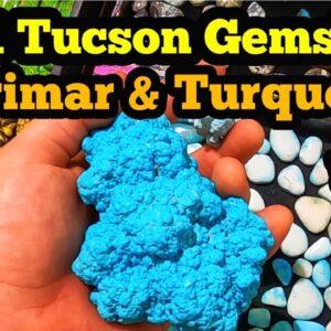 2021 Tucson Gemshow Larimar & Turquoise  22nd Street Show Part 2