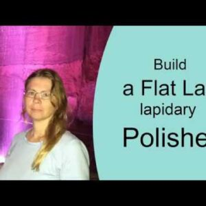 Build your own flat  lap for polishing stones