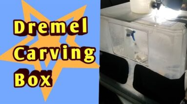 Dremel Carving Box for Polishing Rocks