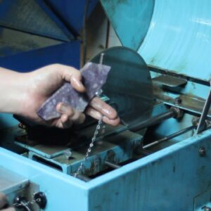 How to use a lapidary slab saw Part 1