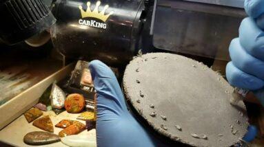 How to use diamond paste to polish cabochons