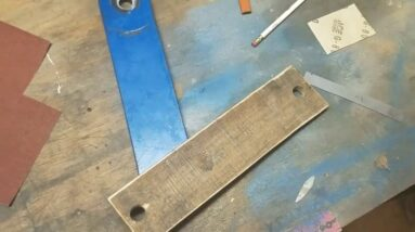 Making a set of wooden soft jaws for your slab saw