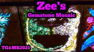 ZEE'S Gemstone Mosaic Tucson Gem Show 2021