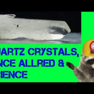 Rockhounding Quartz Crystals and Meet Vince Allred of Allred's Lapidary